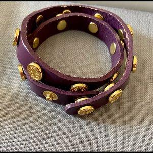 BN Southhill Designs Purple Wrap Bracelet